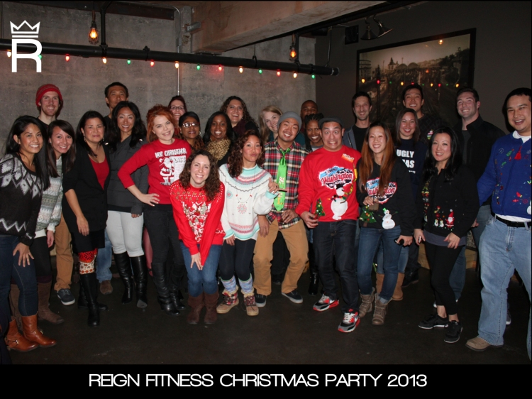 ReignChristmasParty2012