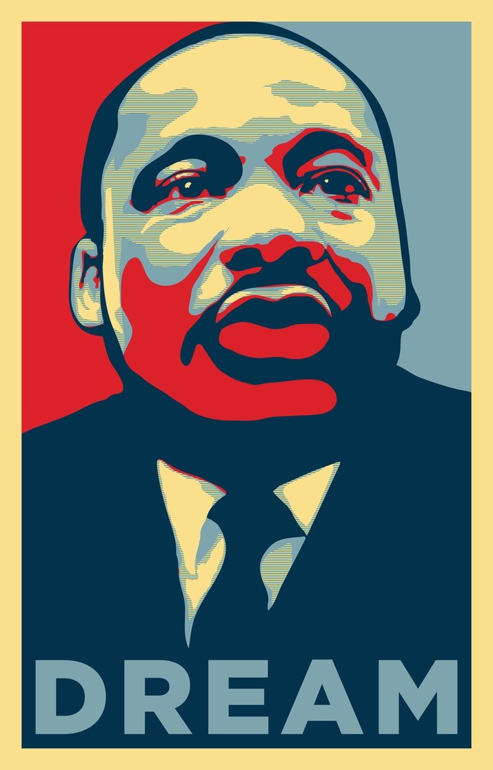 Martin Luther King Jr. Art