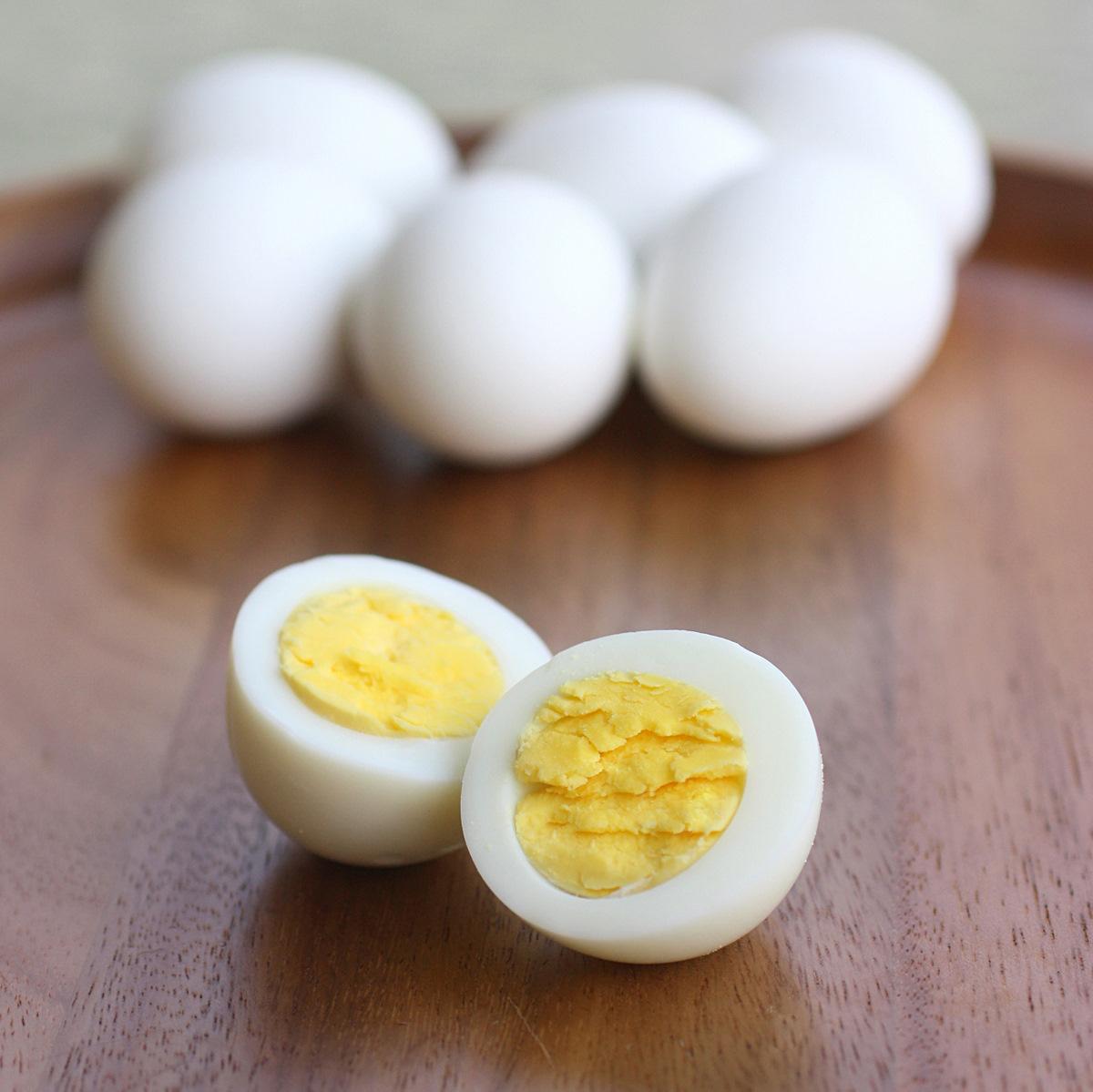Hard boiled egg 1